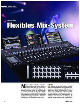 Mackie Axis: Flexibles Mix-System