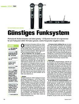 LD Systems U500-Serie: Günstiges Funksystem
