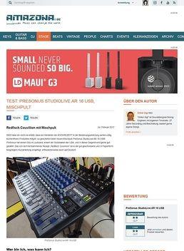 PreSonus StudioLive AR 16 USB
