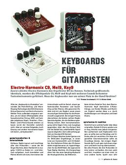 Electro-Harmonix C9, Mel9, Key9
