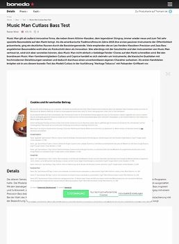 Music Man Cutlass Bass
