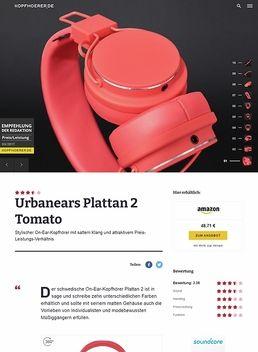 Urbanears Plattan 2