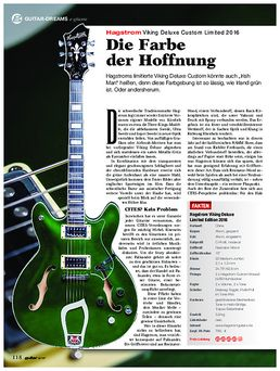 Hagstrom Viking Deluxe Custom Limited 2016
