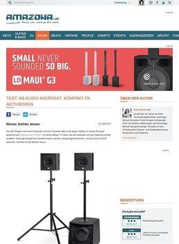 KS Audio microSAT