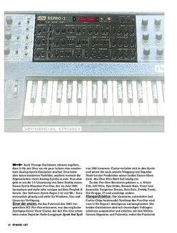 U-HE REPRO-1 - SOFTWARE-SYNTHESIZER