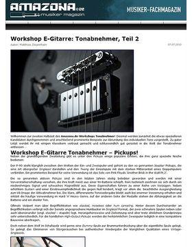 Workshop: Guitar know-how - Tonabnehmer, Teil 2