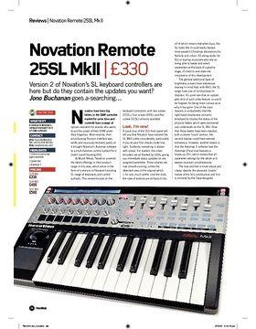 Novation Remote 25SL MkII