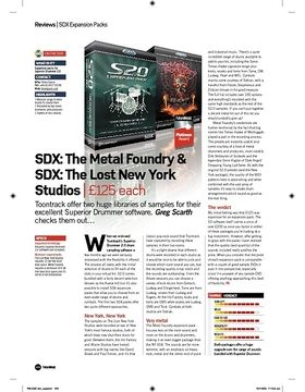 SDX: The Metal Foundry and SDX: The Lost New York Studios
