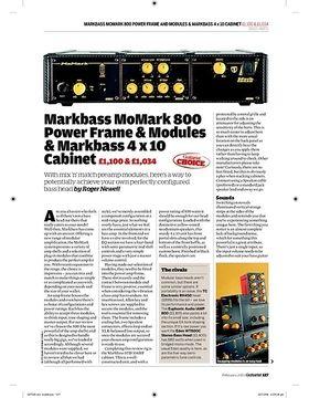 Markbass MoMark