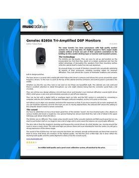 Genelec 8260A Tri-Amplified DSP Monitors