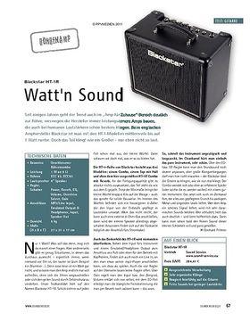 Test: Blackstar HT-1R - Watt'n Sound