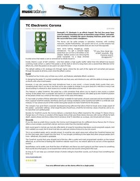 TC Electronic Corona
