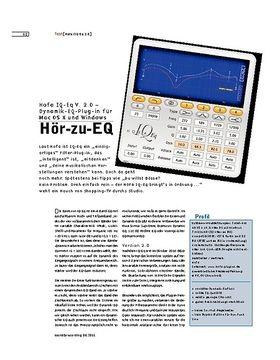 Hofa IQ-Eq V. 2.0 – Dynamik-EQ-Plug-in für Mac OS X und Windows