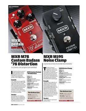 MXR M78 Custom Badass '78 Distortion