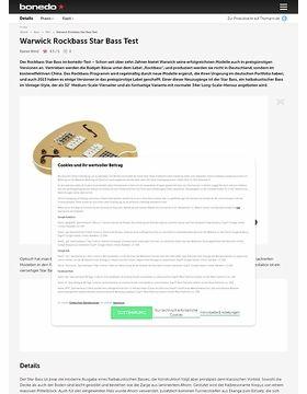 Warwick Rockbass Star Bass Test