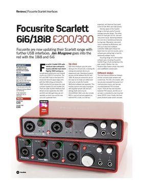 Scarlett 18i8 B-Stock