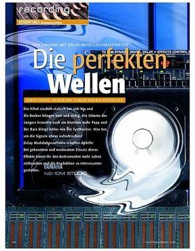 Recording Essentials: Modulationseffekte - Die perfekten Wellen - Durch Chorus, Phaser und Flanger den Mix auffrischen