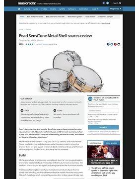 Pearl SensiTone Metal Shell snares