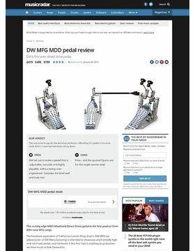 DW MFG MDD pedal