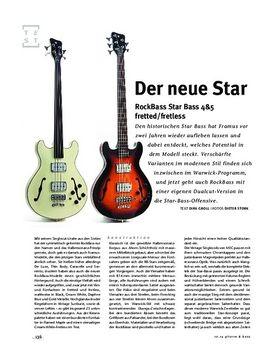 RockBass Star Bass 4&5 fretted/fretless, E-Bässe