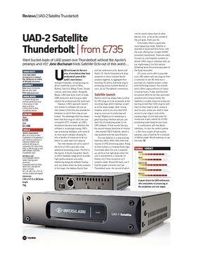 UAD-2 Satellite Thunderbolt