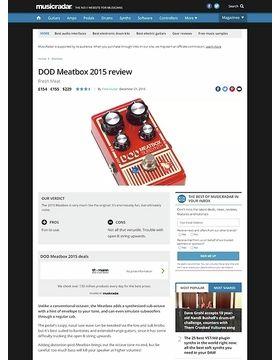 DOD Meatbox 2015