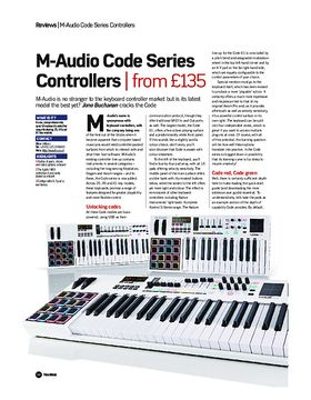 M-Audio Code Series Controllers