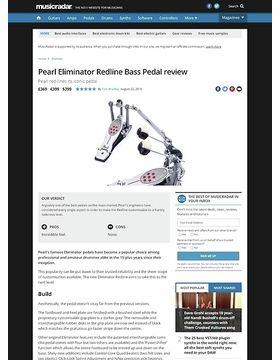Pearl Eliminator Redline Bass Pedal