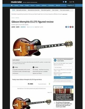 Gibson Memphis ES-275 Figured