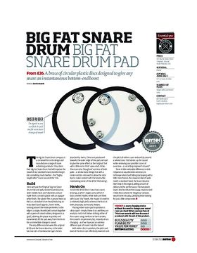Big Fat Snare Drum Big Fat Snare Drum Pad
