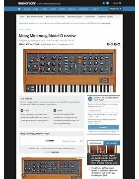 Moog Minimoog Model D