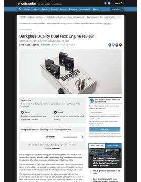 Darkglass Duality Dual Fuzz Engine