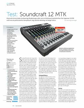 Soundcraft 12 MTK