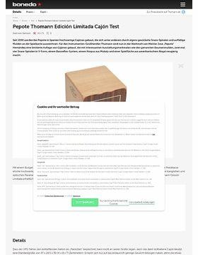 Pepote Thomann Edición Limitada Cajón