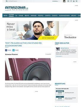 Test: PSI Audio Active 21M Studio RD, Studiomonitore