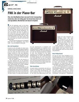 gear Amp - Marshall AS50D & AS100D
