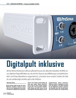 Professional Audio Presonus AudioBox 1818VSL