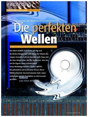 Recording Magazin Recording Essentials: Modulationseffekte - Die perfekten Wellen - Durch Chorus, Phaser und Flanger den Mix auffrischen