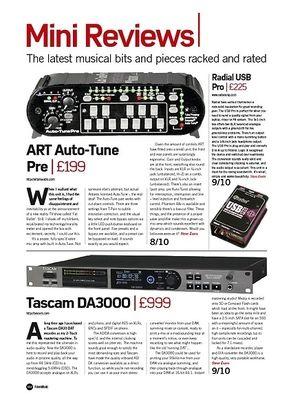 Future Music Tascam DA3000