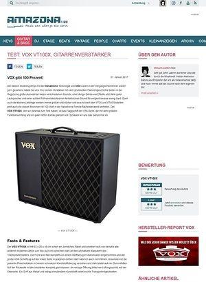 Amazona.de VOX VT100X