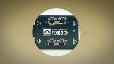 Palmer PDI 03 JB DI / Lautsprecher Simulation