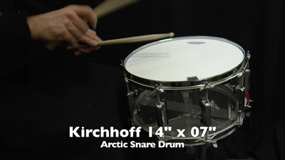 Kirchhoff Arctic 14x07 Snare Drum Modell SI1407A